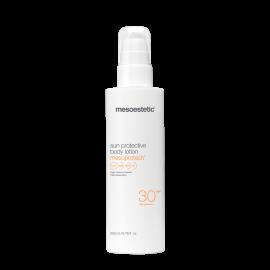 sun protective body lotion